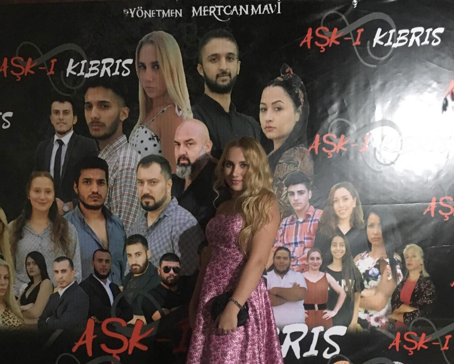 Silivrili Almina Yörük Kıbrıs'ın ilk dizisinde rol aldı