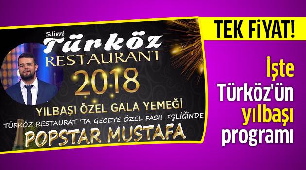 İşte Türköz'ün yılbaşı programı
