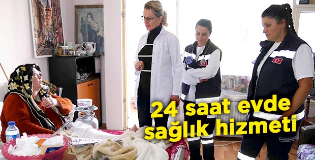 24 saat evde sağlık hizmeti