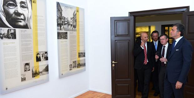 """Selanik """"Atatürk Evi"""" ziyarete açıldı"""