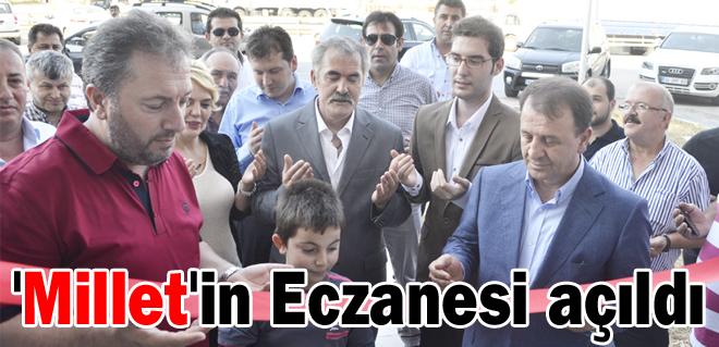 'Millet'in Eczanesi açıldı