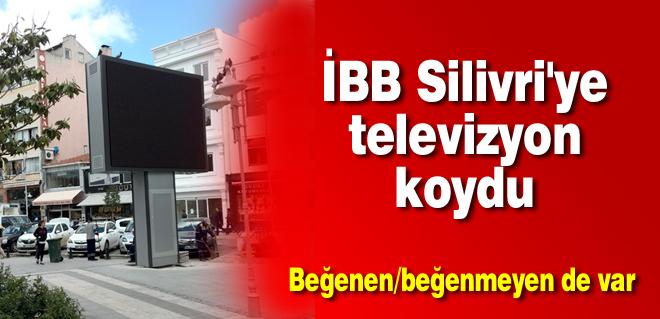 İBB Silivri'ye televizyon koydu