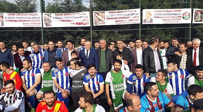 2. Abdullah Türköz Futbol turnuvası başladı