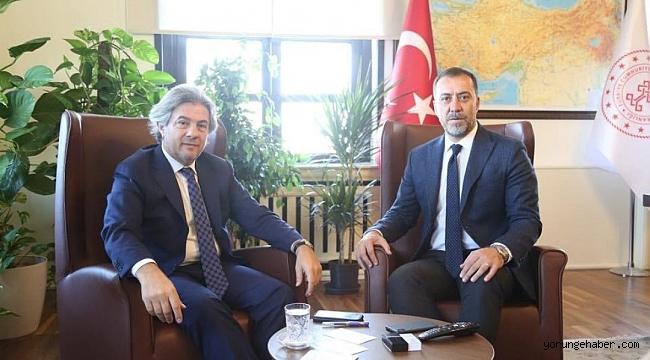Başkan Yılmaz Ankara'dan müjdelerle döndü