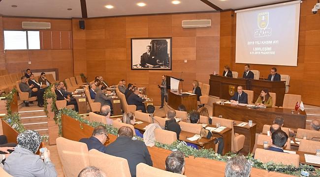 Kasım Ayı Meclisi'nin 2. bileşimi yarın