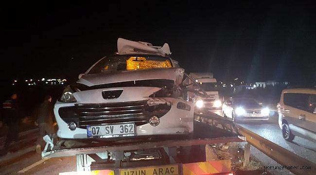 Silivri'de feci kaza: 2 ölü 3 yaralı