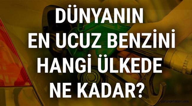 Türkiye benzinde kaçıncı sırada?
