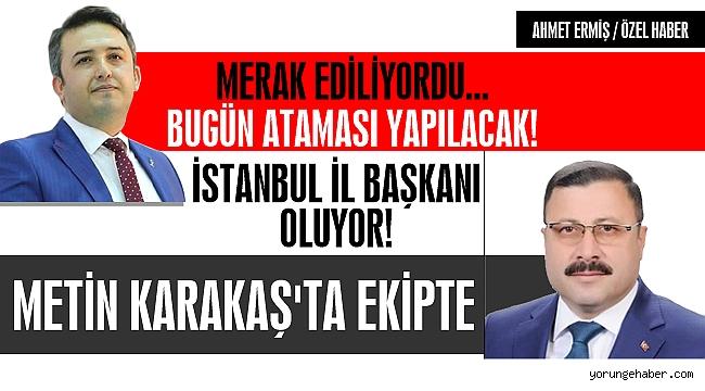 İstanbul İl Başkanı Belli Oluyor