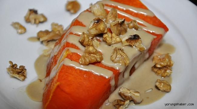 Tahinli kabak tatlısı nasıl yapılır en kolay tarif