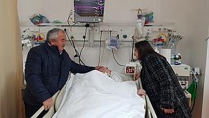 Kaynarca, Ahmet Al'ı ziyaret etti