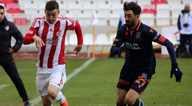 Sivasspor, Medipol Başakşehir ile 1-1 berabere kaldı