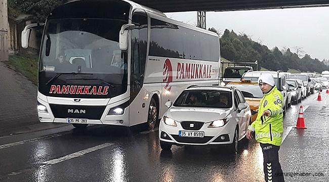 İstanbul'a giriş ve çıkışlarda koronavirüs denetimi yapılıyor
