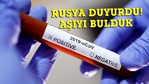 Rusya koronavirüs aşısını bulduğunu duyurdu