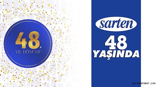 Sanayi devi Sarten, 48. yaşını kutluyor