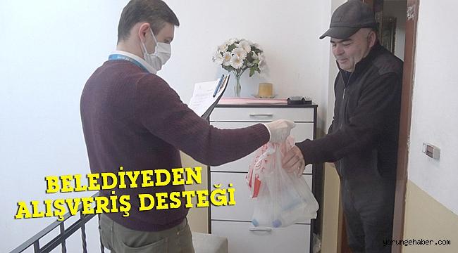 Silivri Belediyesinden vatandaşa alışveriş desteği