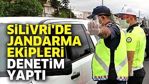Silivri'de Jandarma ekipleri denetim yaptı
