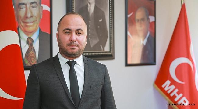 """Yalçın, """"Türk-İslam aleminin kutlu günlerini tebrik ediyorum"""""""