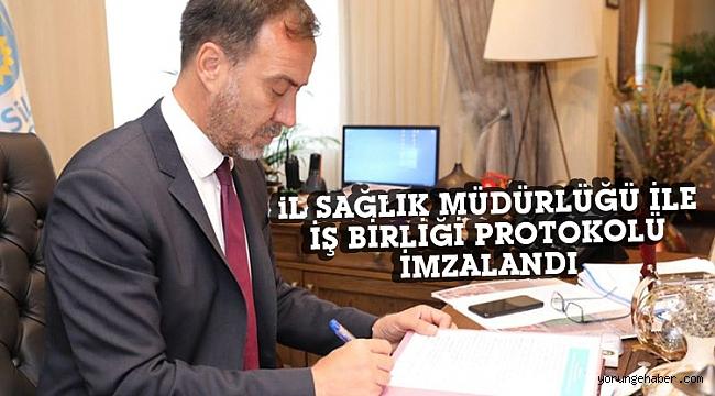 Başkan Yılmaz, protokolü imzaladı