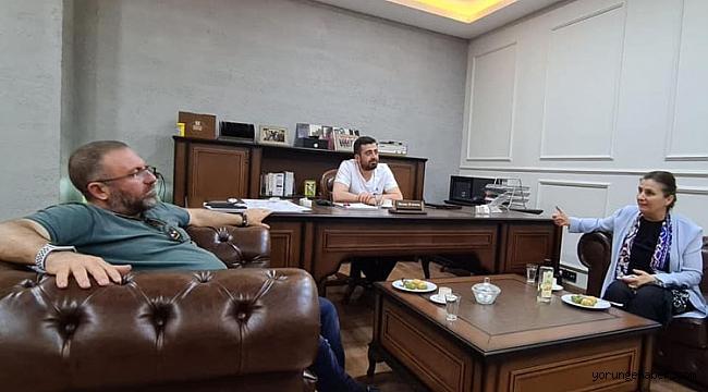 Kaynarca'dan Arslantaş'a taziye ziyareti