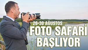 Silivri'de foto safari yarışması başlıyor