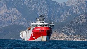 Oruç Reis Gemisinin Görev Süresi Uzatıldı