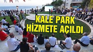 Tarihi Kale Park'ta muhteşem değişim