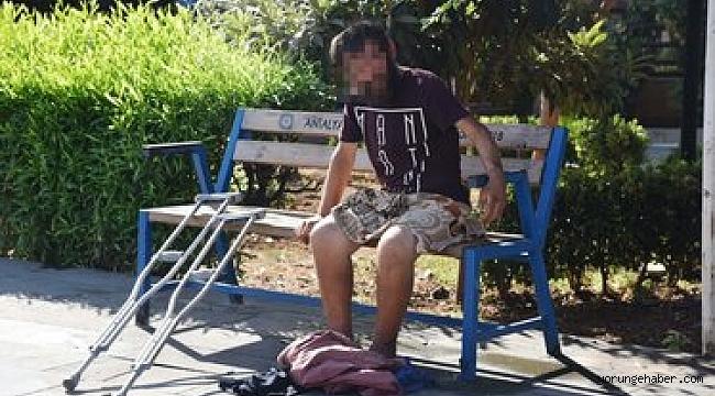 Antalya'da çıplak adam alarmı