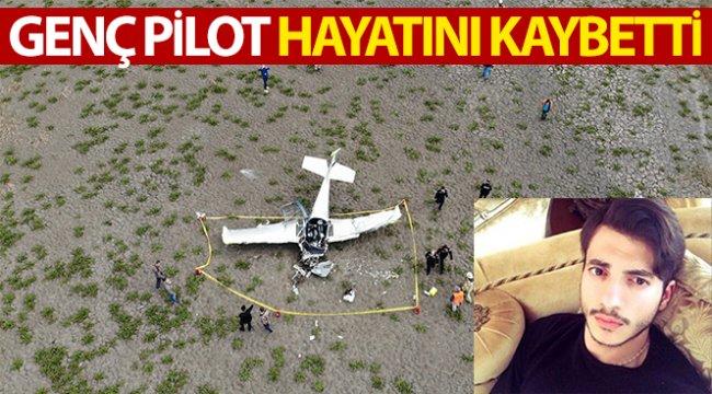 Genç pilot hayatını kaybetti