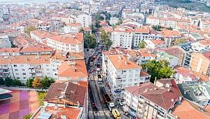 Hacı pervane caddesi baştan sona yenilendi