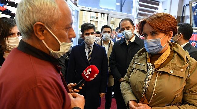 Meral Akşener'den Beylikdüzü'ne ziyaret