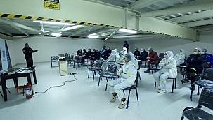 Sak ekibi afet bilinci eğitimlerine başladı
