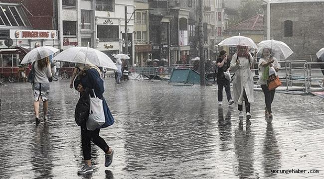 Yağış Silivri ve Çatalca'dan başlayacak