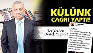 Metin Külünk'ün çağrısına destek yağıyor...