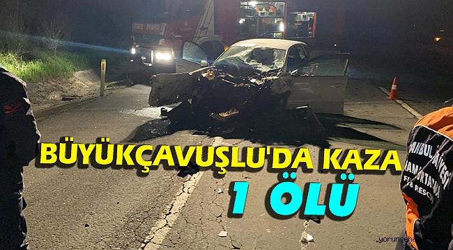 Silivri'de meydana gelen kazada 1 kişi hayatını kaybetti