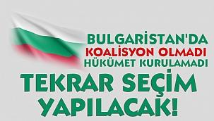 Bulgaristan'da seçim tekrar yapılacak!