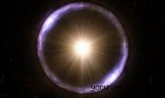Dünya'dan 9 milyar ışık yılı uzaklıktaki Einstein halkası görüntülendi