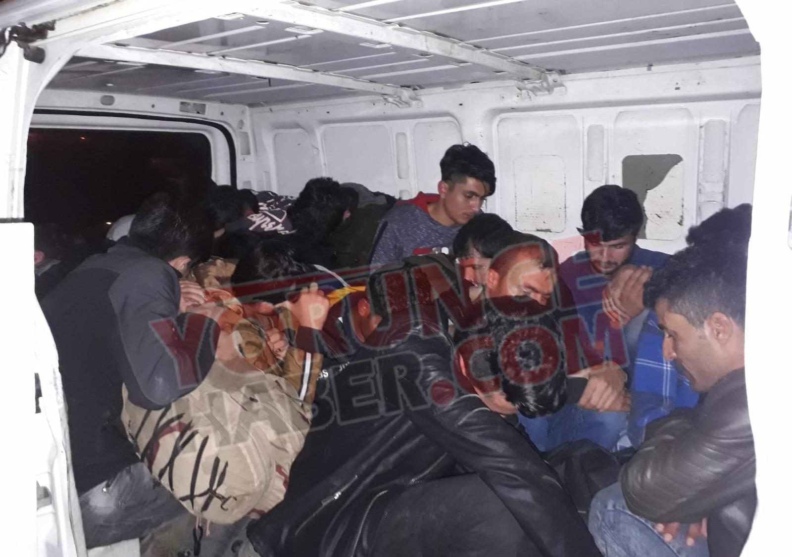 Silivri'de 18 mülteci yakalandı: 2 asker yaralı