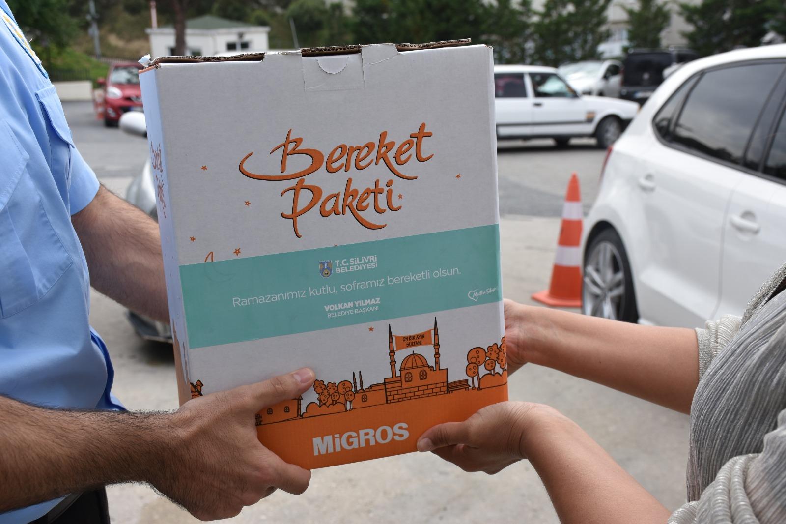 Silivri Belediyesi İhtiyaç Sahiplerini Unutmadı