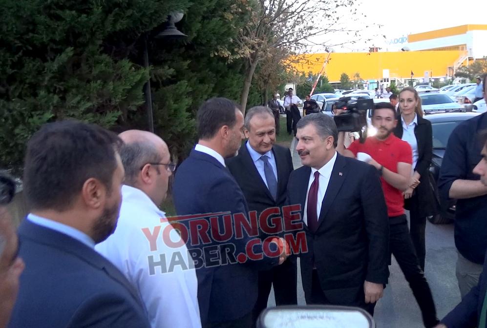 Sağlık Bakanı Fahrettin Koca Silivri'de