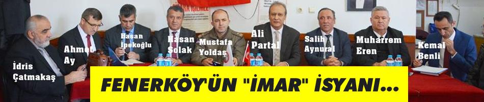 Fenerköy'ün imar isyanı
