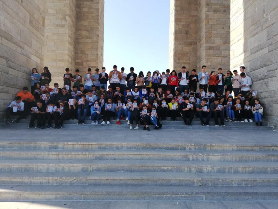 TÜRAM Lisesi öğrencileri Çanakkale'yi gezdi