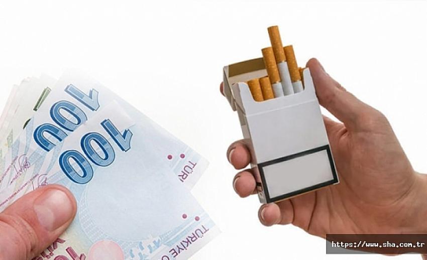 Sigaraya 50 Kuruş-1 TL yeni zam geliyor