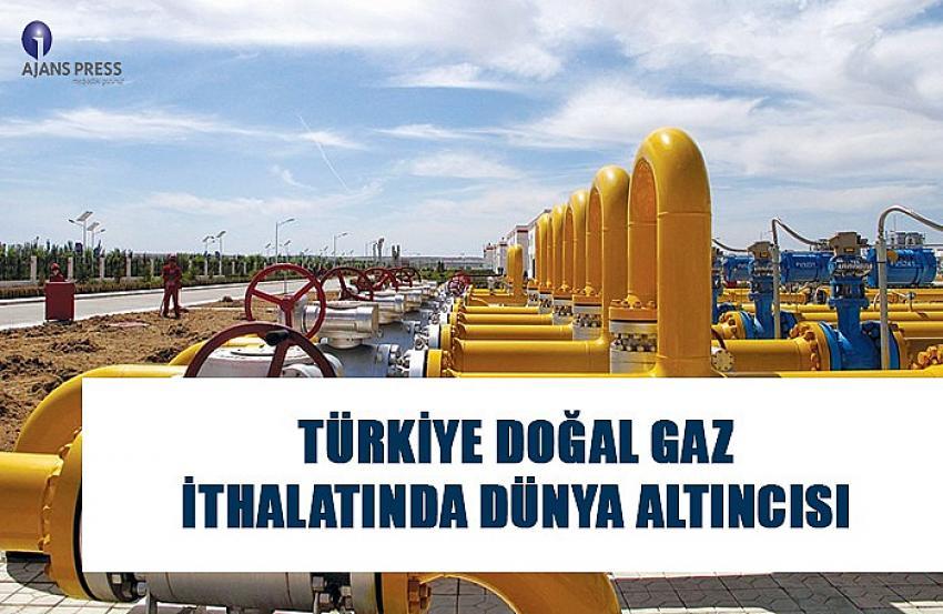 Türkiye doğal gaz ihracatında dünya