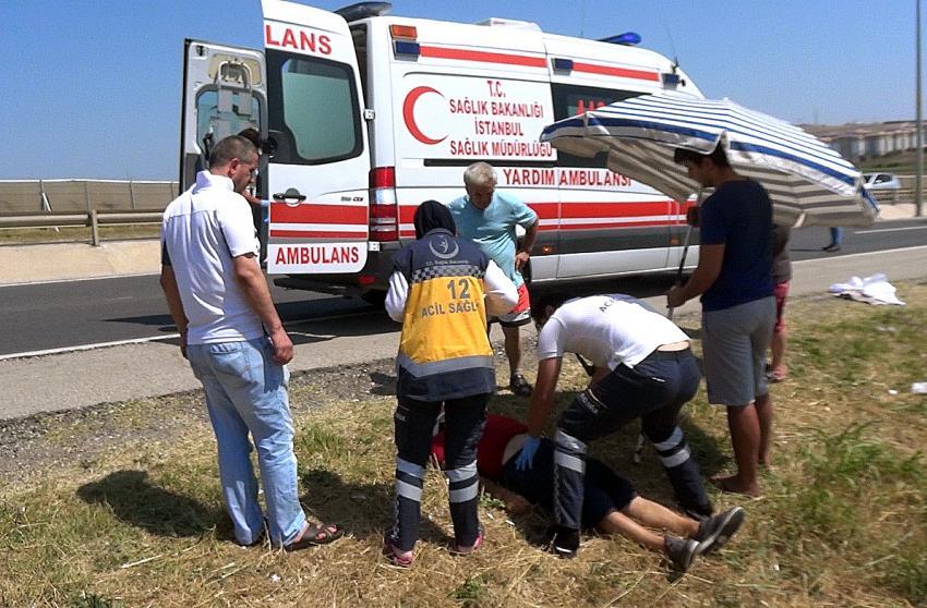Silivri'de kaza: 5 yaralı