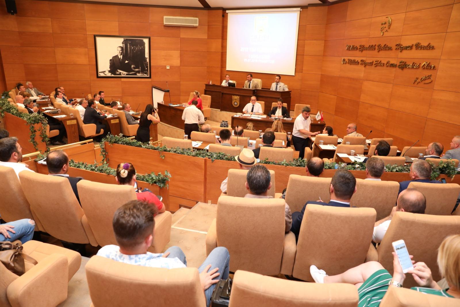 Eylül ayı meclis toplantısı Pazartesi günü yapılacak