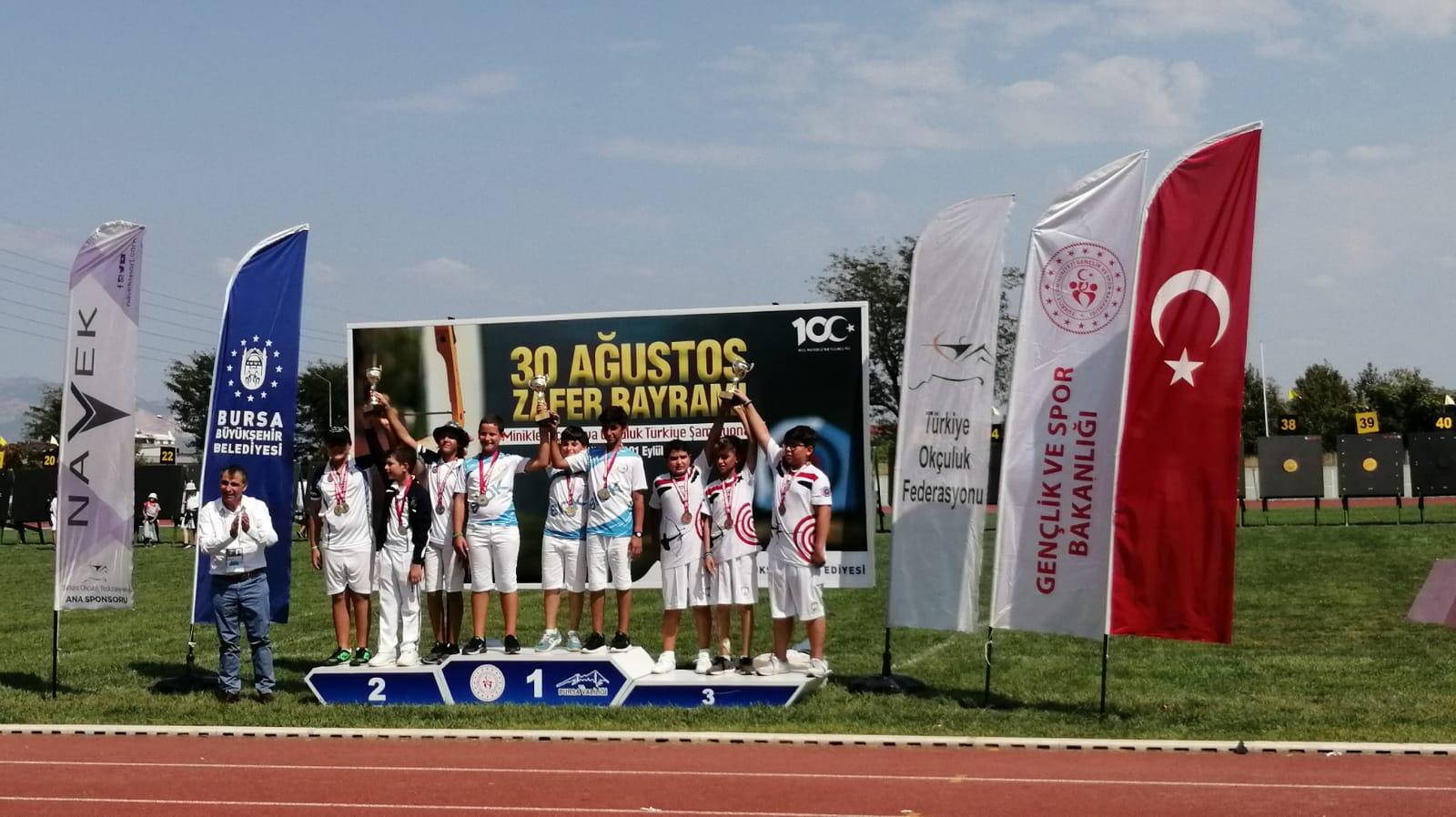Silivrili okçular Türkiye Şampiyonu oldu