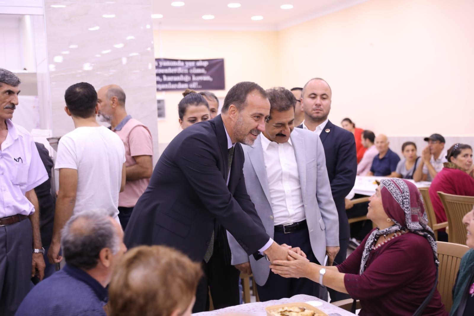 Başkan Yılmaz, Muharrem Ayı iftarına katıldı