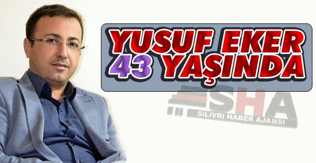 Gazeteci Yusuf Eker'in doğum günü mesaisi